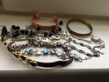 LOTTO VINTAGE Bracciali Braccialetti Inc argento e rame gioielli pietre 1970-1990s