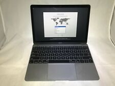 MacBook 12 Space Gray 2017 1.3 GHz Intel Core i5 16GB 256GB SSD Good Condition