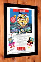 1994 Animaniacs SNES Sega Genesis Game Boy Promo mini Poster Ad Page Art  Framed
