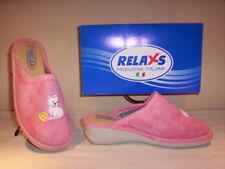 Ciabatte pantofole chiuse Relaxs bimba bambina invernali casa rosa 29 30 31 32