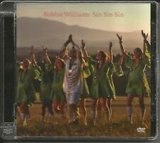 ROBBIE WILLIAMS Sin w/ UNRELEASED & MIX & Making of VIDEO & PHOTO GALLERY DVD