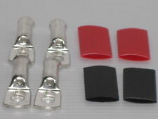 CABLE LUGS AND HEAT SHRINK TO SUIT 6B&S CABLE 6mm hole