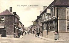 Royston. High Street in Robert H. Clarke's Series # 118.