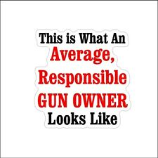 This Is What The  2nd Amendment Decal Car Window Sticker Second Amendment