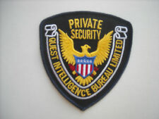 """""""New Condition""""  Quest Intelligence Private Security Police Sleeve Patch"""