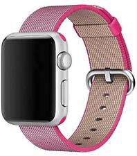 Genuine Apple Watch Woven Nylon Sport Loop Band (38mm / 40mm) - Hyper Pink - New