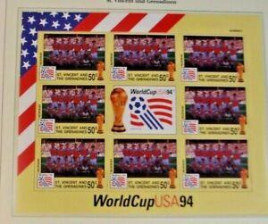 Fußball - WM 1994 in den USA - postfrische Briefmarkensammlung