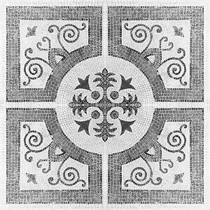 Black Grey Mosaic Tile Stickers Transfers Kitchen Bathroom - MS2-2