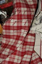 * Artefina Geschirrtuch Küchentuch Rot kariert bedruckt 45cmx70cm Weihnachten