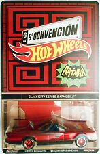 2016 HOT WHEELS MEXICO CONVENTION CLASSIC TV SERIES BATMOBILE