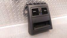 Genuine BMW E90 91 Negro Detrás Centro Consola recortar respiraderos de almacenamiento de información 7118049 Completa
