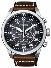 Citizen Eco-drive Aviator Chronograph Ca4210-16e 100m Mens Watch