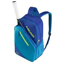 Used Head Core Professional Tennis Backpack Blue & Yellow Squash