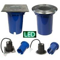 Bodeneinbauleuchte GU10 LED Bodeneinbaustrahler Bodenleuchte 230V außen Beton