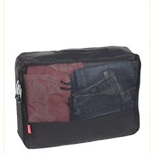NEW 1 Pc Smart Packing Cube - Large - Black