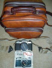 Pentax Asahi K1000 35mm SLR Film Camera W/SMC M 50mm F2 Lens, plus case