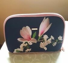 TED BAKER Make Up Cosmetic Wash Bag large NEW opulent crush