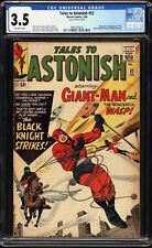 Tales to Astonish #52 - 3.5 CGC - Giant-Man & Wasp - First Black Knight!
