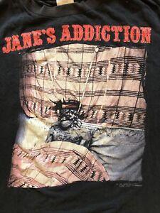 Janes Addiction T Shirt Vtg Article 1 Rock 90s XL Nirvana Pixies Ramones Rare