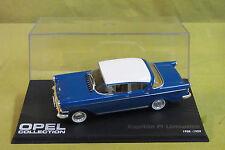 Modellauto - Opel Collection - Kapitän PI Limousine - 1958-1959 - blau - 1:43