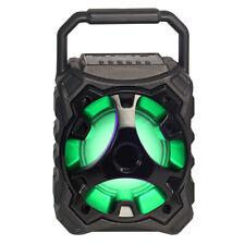 Fully Powered 500W Bluetooth Wireless Portable Multimedia Speaker  Blade10 black