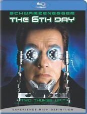 THE 6TH DAY (Arnold Schwarzenegger)     Blu Ray - Sealed Region free