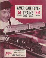 [75487] GILBERT AMERICAN FLYER S & HO Gauge 1961-62 RAILROAD CATALOGUE