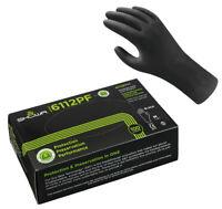 L Gr Nitril-EW-Handschuh puderfrei grün