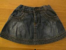 Mothercare Girls Denim Skirt  6-9 Months