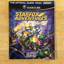 Star Fox Adventures Nintendo Power Official Strategy Guide Covers Gamecube
