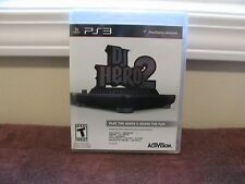DJ HERO 2 PS3 PLAYSTATION 3  VIDEO GAME NEW FACTORY- SEALED