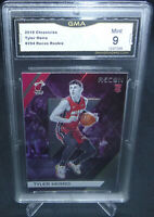 2019-20 Chronicles Tyler Herro Recon Rookie Card #294 GMA Graded Mint 9 HEAT