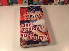 Nirvana: Live! Tonight! Sold Out!! Sealed Music Doc VHS '94 Interviews & Concert
