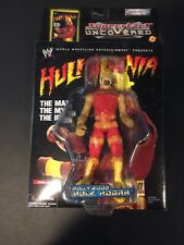"New! 2002 Jakk's Superstars uncoVered ""Hulk Hogan"" Action Figure WWF WWE [788]"