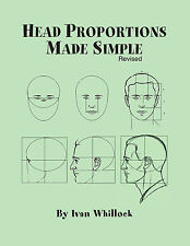 BOOK Head Proportion Made Simple by Ivan Whillock drawing, design, carving, art