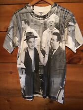 vintage The Honeymooners Allover Print Shirt Mens Large Honey Mooners Aop Vtg