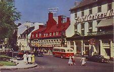 Canada Quebec - Rue Ste-Anne old postcard