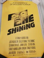 1980 The Shining Rolled Movie Poster 27x41. Jack Nicholson