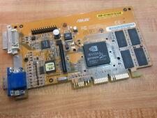 Asus SD-2MX32 Video Graphics Card AGP-V7100/2V1D/32M