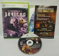 Clive Barker's Jericho Game - Microsoft Xbox 360 Rare Tested Works