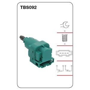 Tridon Brake Light switch TBS092 fits Audi TT 1.8 T (8N3) 110kw, 1.8 T (8N3) ...