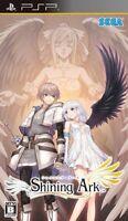 Used PSP SEGA Shining Ark  KONAMI SONY PLAYSTATION JAPAN IMPORT