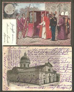 (E6); Italien; 2x Auslandspostkarte!