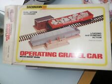 BACHMANN OPERATING GRAVEL CAR WITH DUMP YARD  ***FREE P & P***