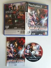 Samurai Warriors PS2 PlayStation 2 (Disc in great condition)