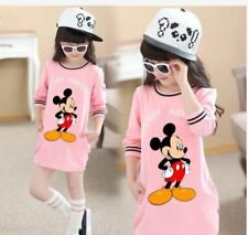 MICKEY KIDS DRESS JLH   - PINK