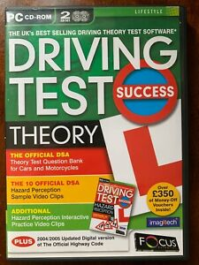 Driving Test Success Theory PC CD Rom Software