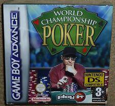 World Championship Poker Nintendo Gameboy Advance GBA Factory