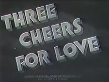 THREE CHEERS FOR LOVE  1936 (DVD) ROBERT CUMMINGS