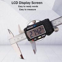 "Digital Electronic Vernier Caliper Stainless Steel Micrometer 150MM 6"" 300MM 12"""